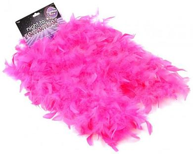 Ntr Pink Feather Boa